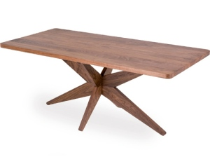 This table has a very interesting modern design