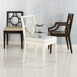 West Elm Circle-Cutout Chairs