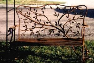 Branches & Birds Bench