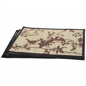 Bamboo Brown Bird Placemats